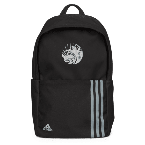 Adidas Backpack Black Front 615F69C39279A