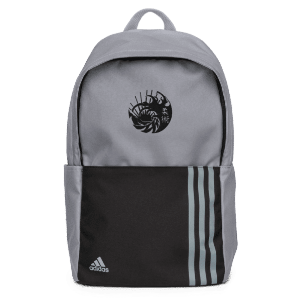 Adidas Backpack Grey Front 6163944D93Ce6